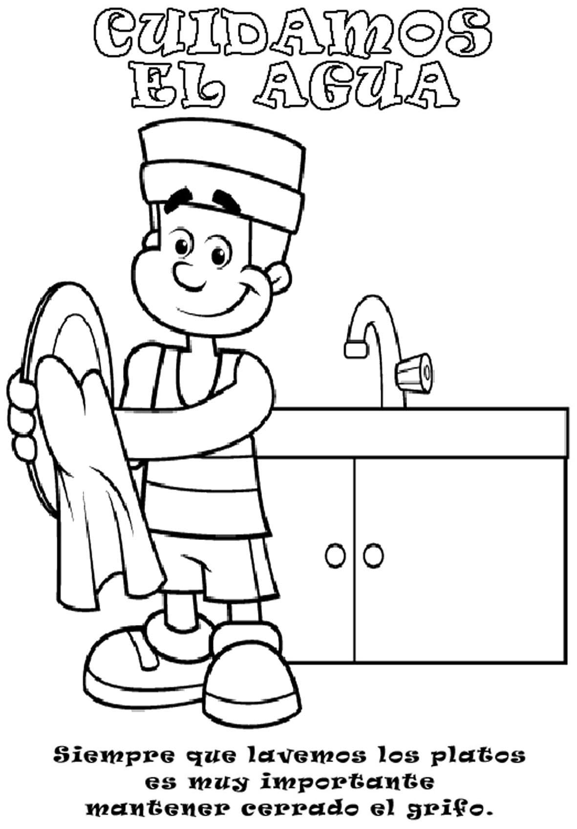 Carteles para trabajar sobre el agua - Actividades Lúdicas Educativas
