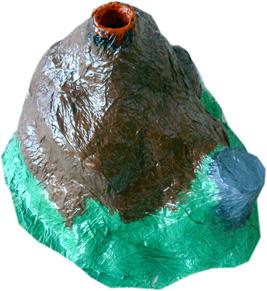 Como Hacer Un Volcan De Bicarbonato