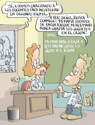 escuela idioma: