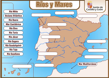 Los rios y mares de España