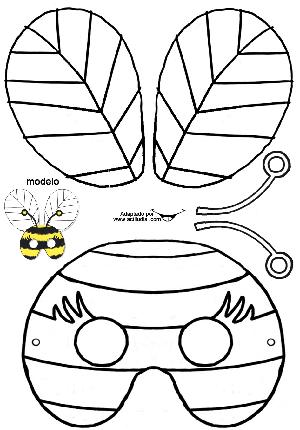 Máscara de abeja - Actiludis