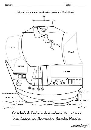 Carabela Santa María Actiludis