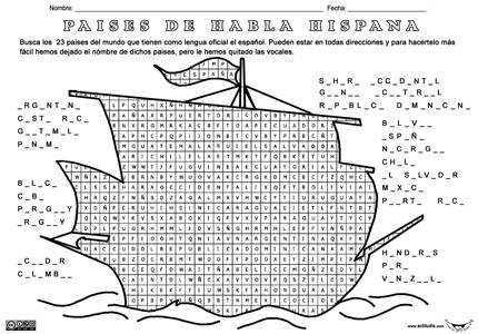 Países de habla hispana | Actiludis