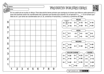 Problemas de multiplicaciones para niños de segundo de primaria ...