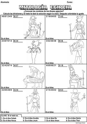 DIVISIONESdiosesegipcios - Actiludis