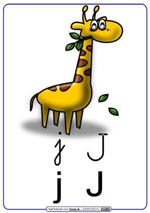 Letra j graf a en cursiva actiludis for Cose con la g