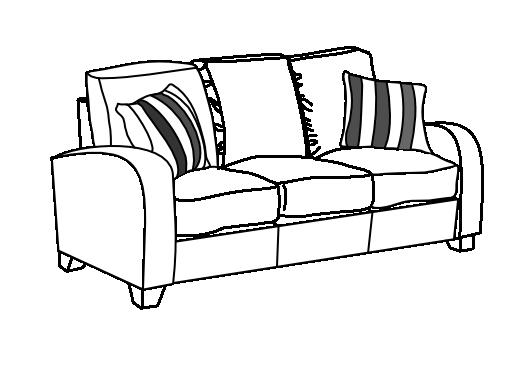 Dibujo De Sofa Para Colorear Imagui