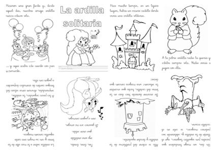 Cuentos en formato mini libro - Actiludis