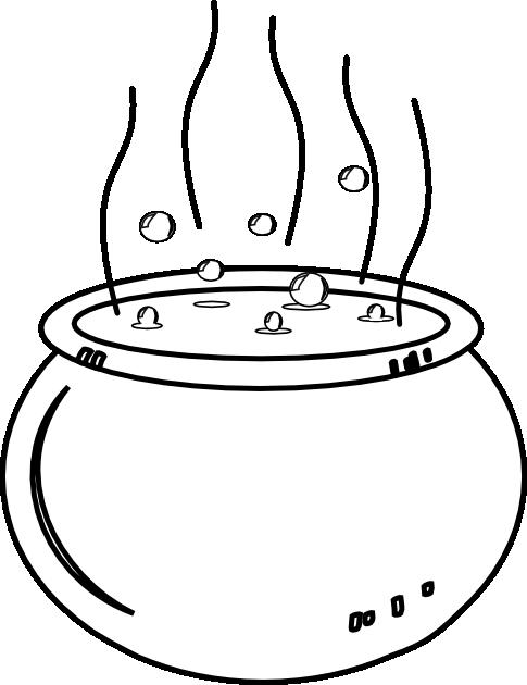 Dibujos de las ollas de las brujas  Imagui