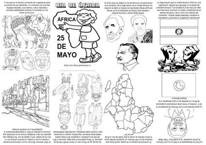 25 de mayo d a de frica i frica cuesti n de vida Decoracion 25 de mayo nivel inicial