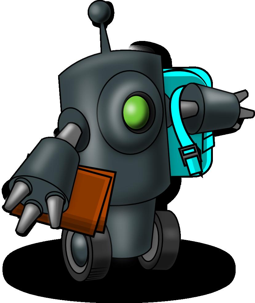Cuento corto rob n robot actiludis - Robot que limpia el piso ...