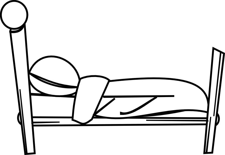 Una cama en dibujo imagui - Dibujos para cabeceros de cama ...