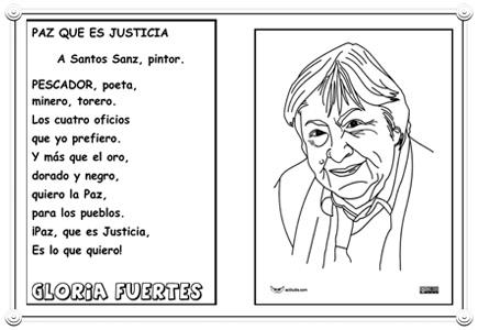 Gloria Fuertes: Mágica Poeta de la Paz y la Justicia - Actividades ...