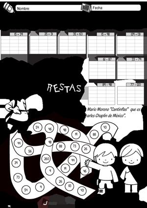 Cantinflas sumas y restas ABN