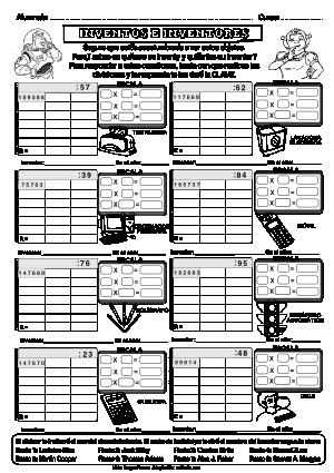 Dividendo Varias cifras y divisor 2 cifras 12