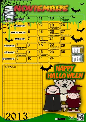 Noviembre 2013 color y datos