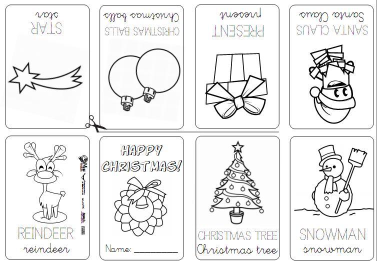 Christmas Mini Books Printable