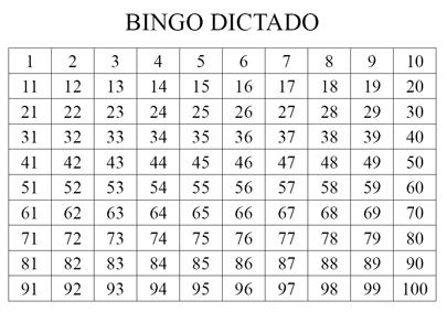 Resultado de imagen de dictados tablas