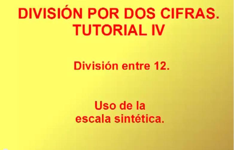 División por 2 cifras IV