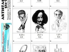 artistas europeos multiplicacion decimales