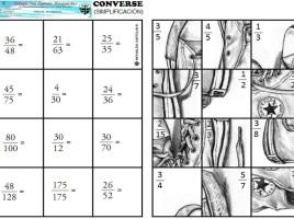 Converse - simplificacion de fracciones