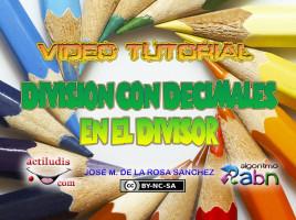 Divisiones con decimales en el divisor