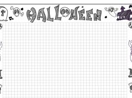 Escritura Halloween cuadrícula 2