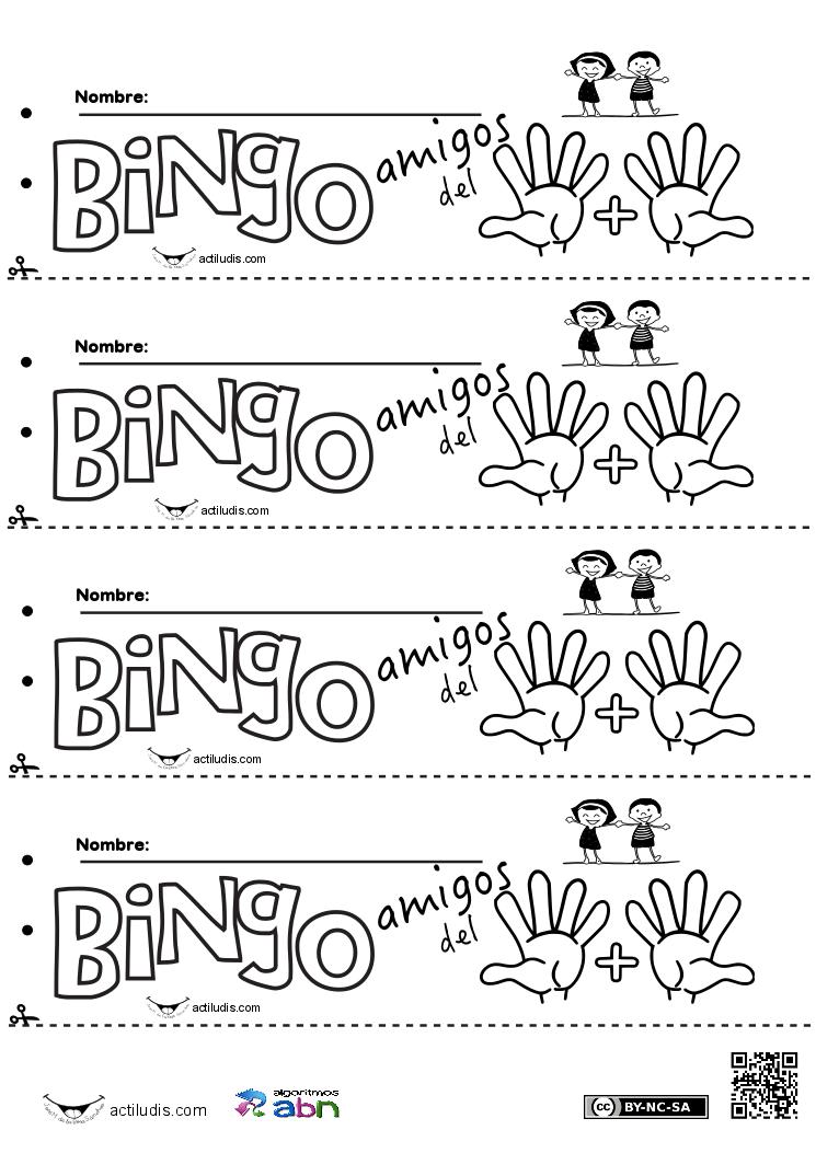 Bingo amigos del 10 01 - Actiludis