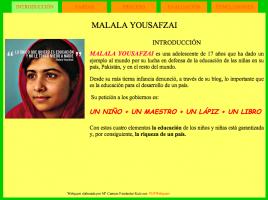 Webquest Malala