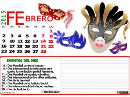 FEBRERO 2015 DATOS Y COLOR