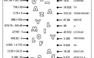 Operaciones Variadas con y sin decimales 02