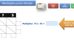 Multiplicación Hindú
