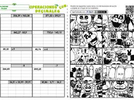 Operaciones Variadas decimales 03