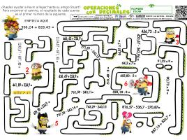 Operaciones Variadas decimales 04