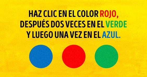 Test de atenci n y memoria actiludis - Colores para la concentracion ...