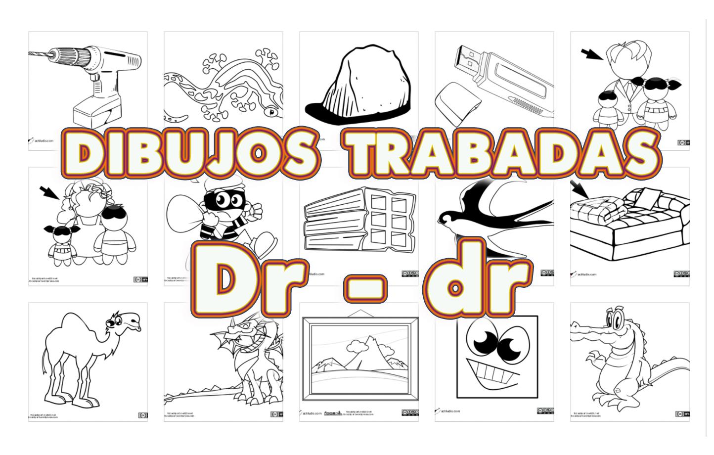 Dibujos Con La Trabada Br: Dibujos Trabadas DR