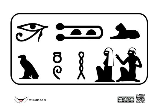 jeroglífico - Actiludis