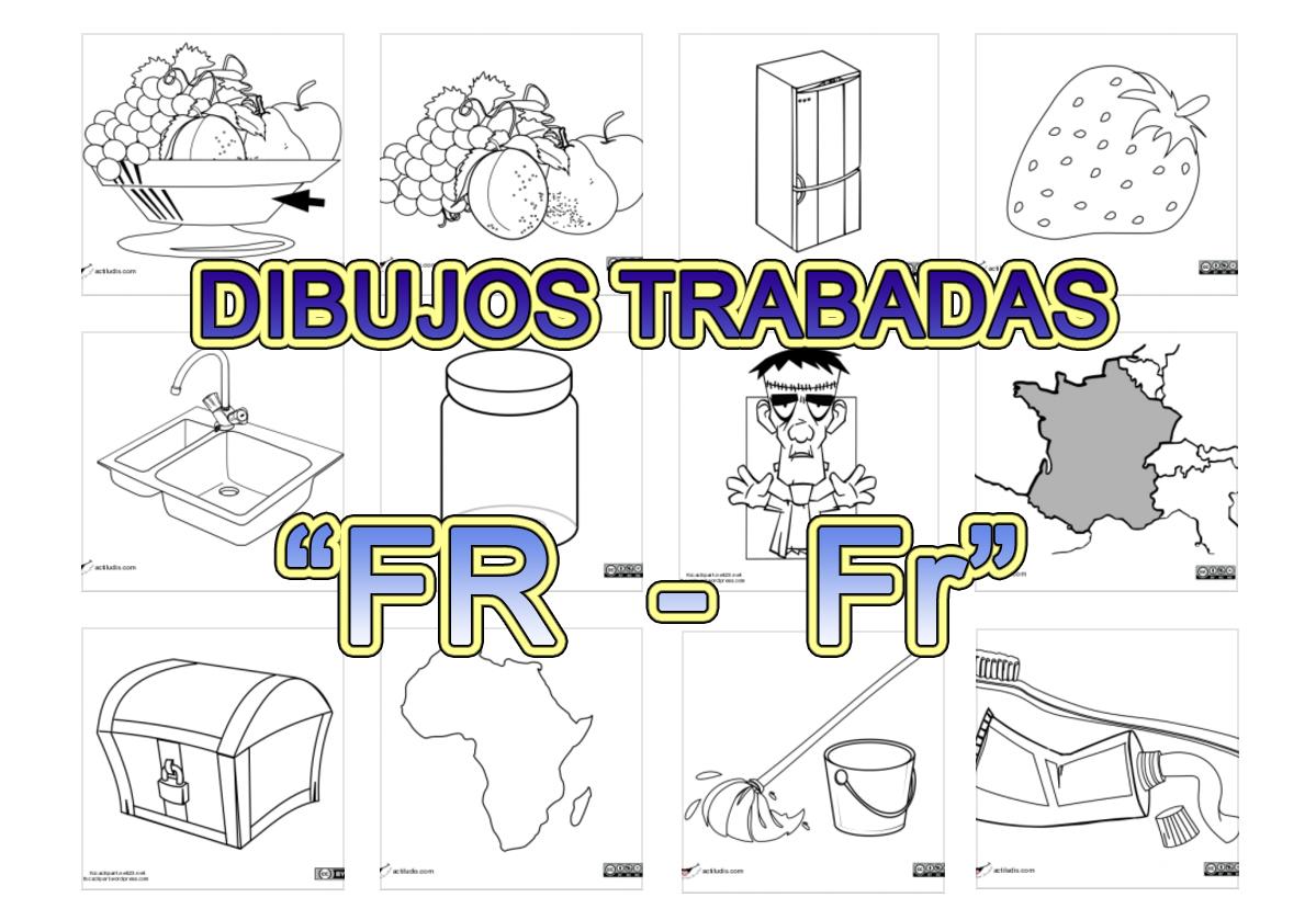 Dibujos Con La Trabada Br: Trabadas Fr