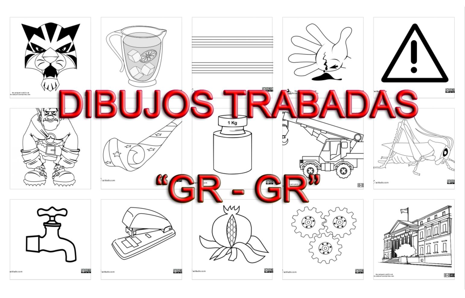 Dibujos Con La Trabada Br: Trabadas Gr