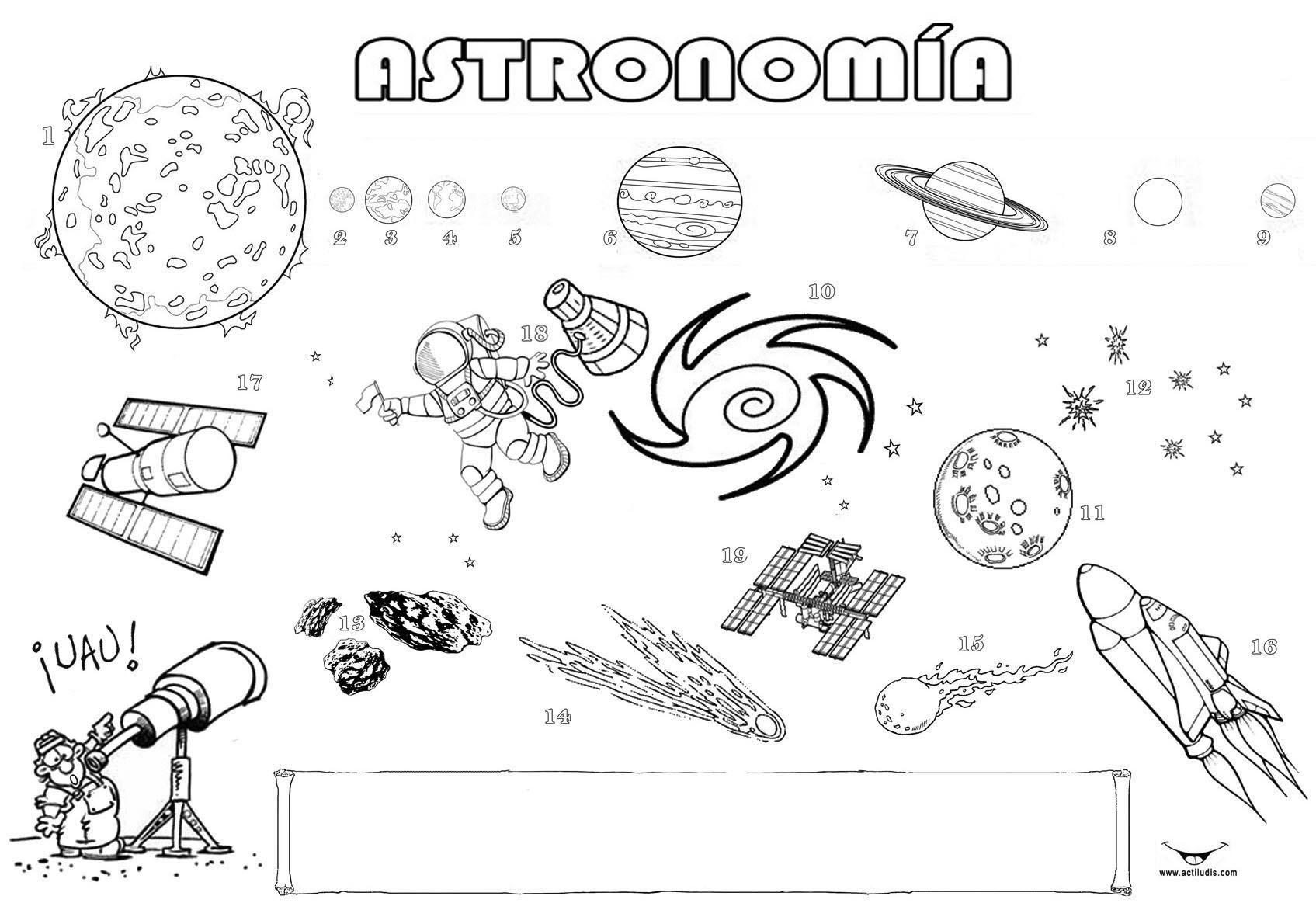 Vistoso Sistema Solar Hojas De Trabajo Imprimibles Adorno - hoja de ...