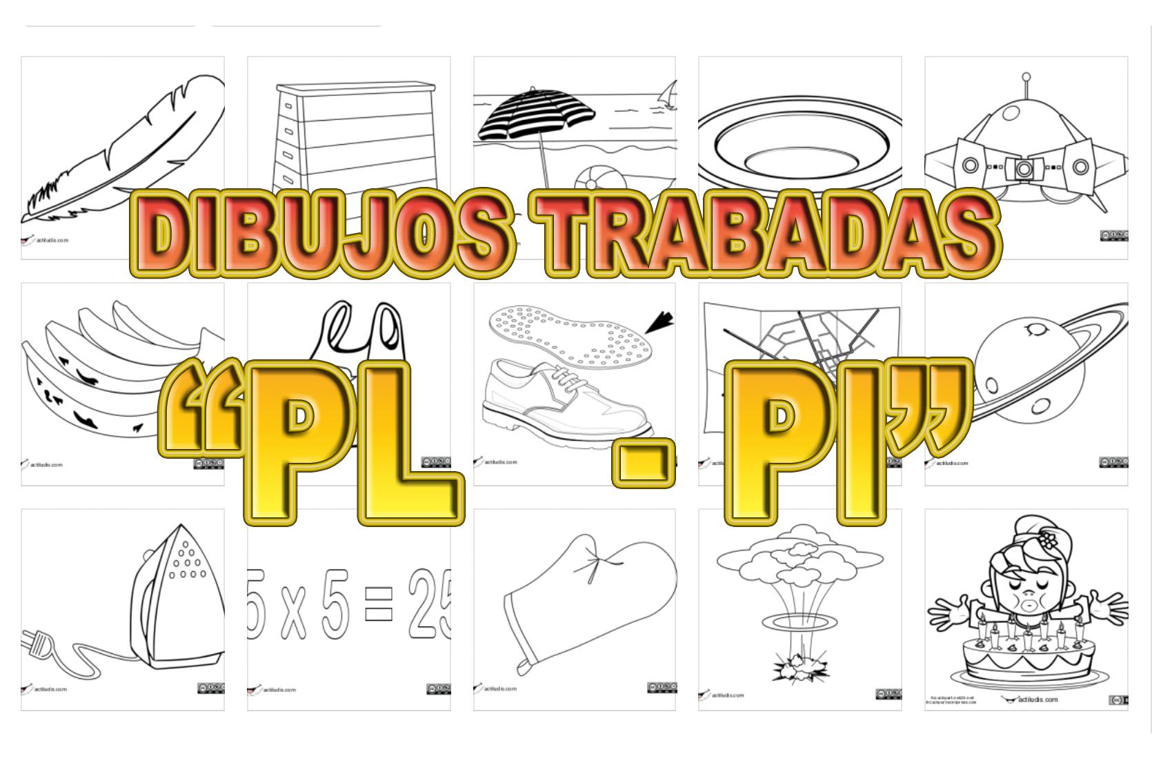 Dibujos Con La Trabada Br: Trabadas Pl