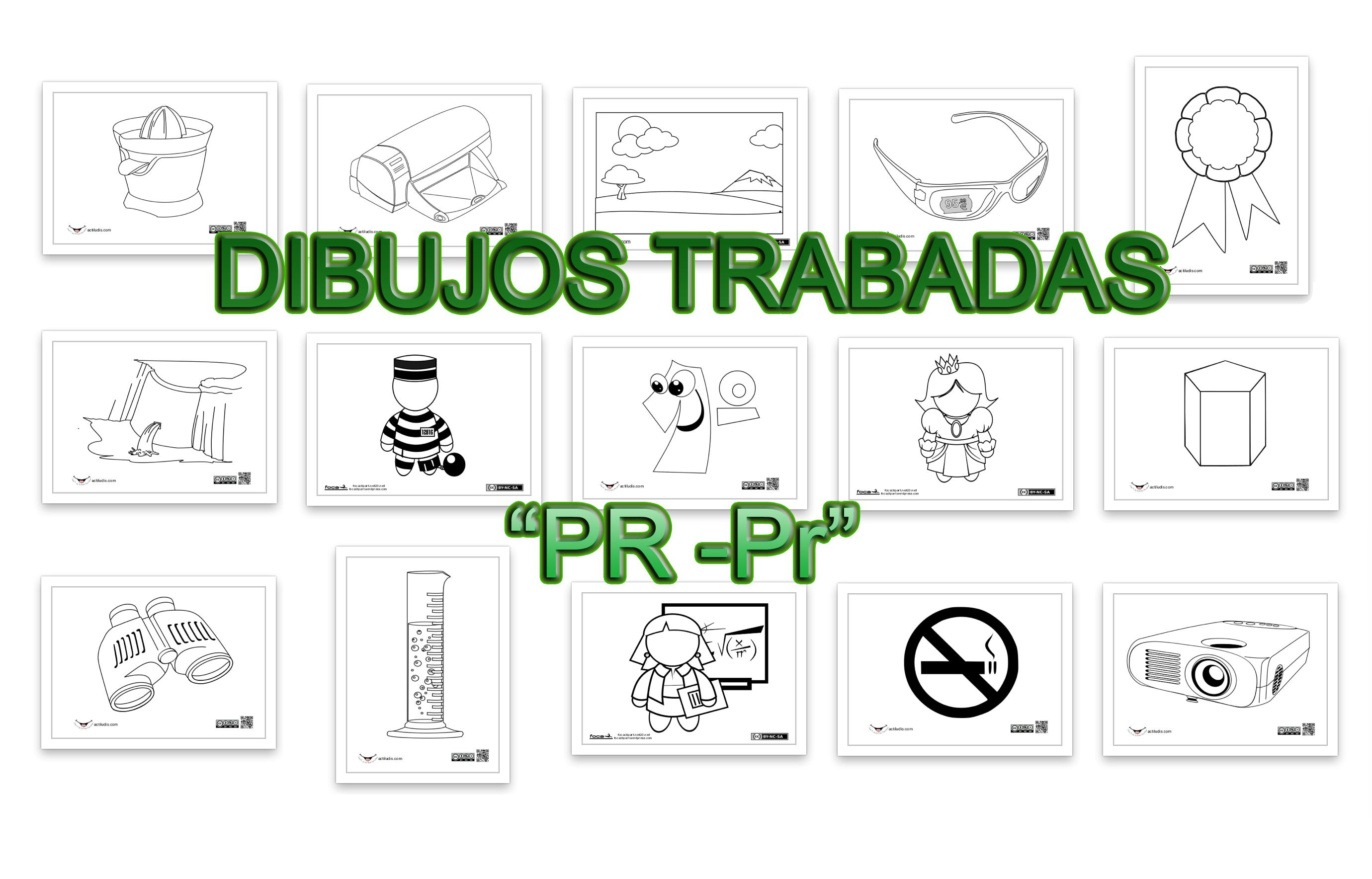"""Dibujos Con La Trabada Br: Dibujos Trabadas """"Pr"""""""